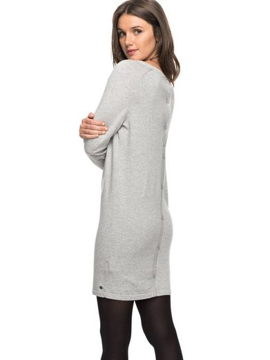 Roxy Long Sleeve Dress With Button Tape Winter Story