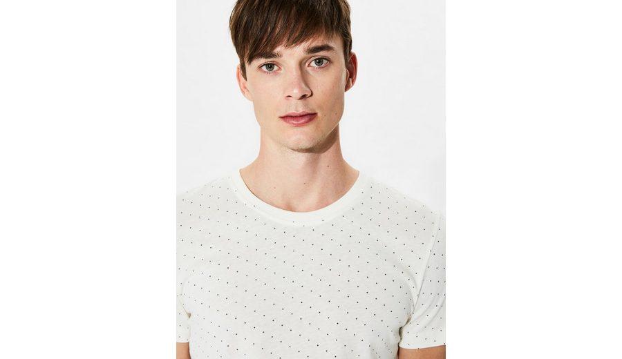 Selected Homme Rundhalsausschnitt- T-Shirt Auslass Günstigsten Preis Heißen Verkauf Online Verkauf Breite Palette Von oRmRD23g7I