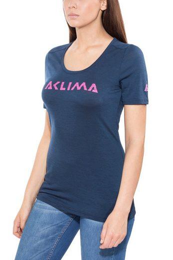 Aclima T-Shirt Lightwool Logo R-Neck T-Shirt Women
