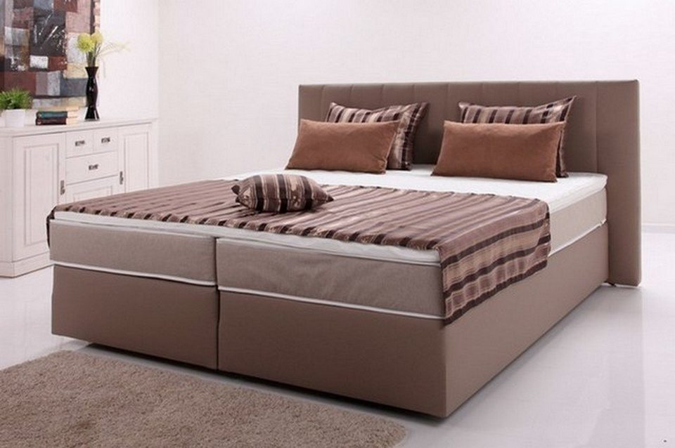 hti living boxspringbett peach ii online kaufen otto. Black Bedroom Furniture Sets. Home Design Ideas