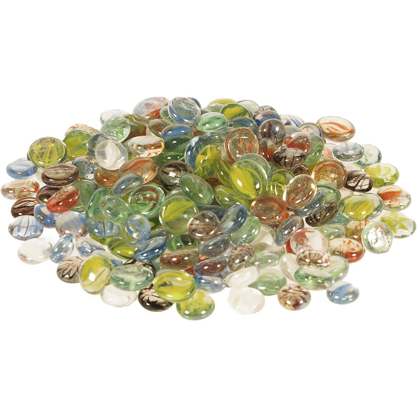 SUNNYSUE Set Glasnuggets marmoriert, 1kg