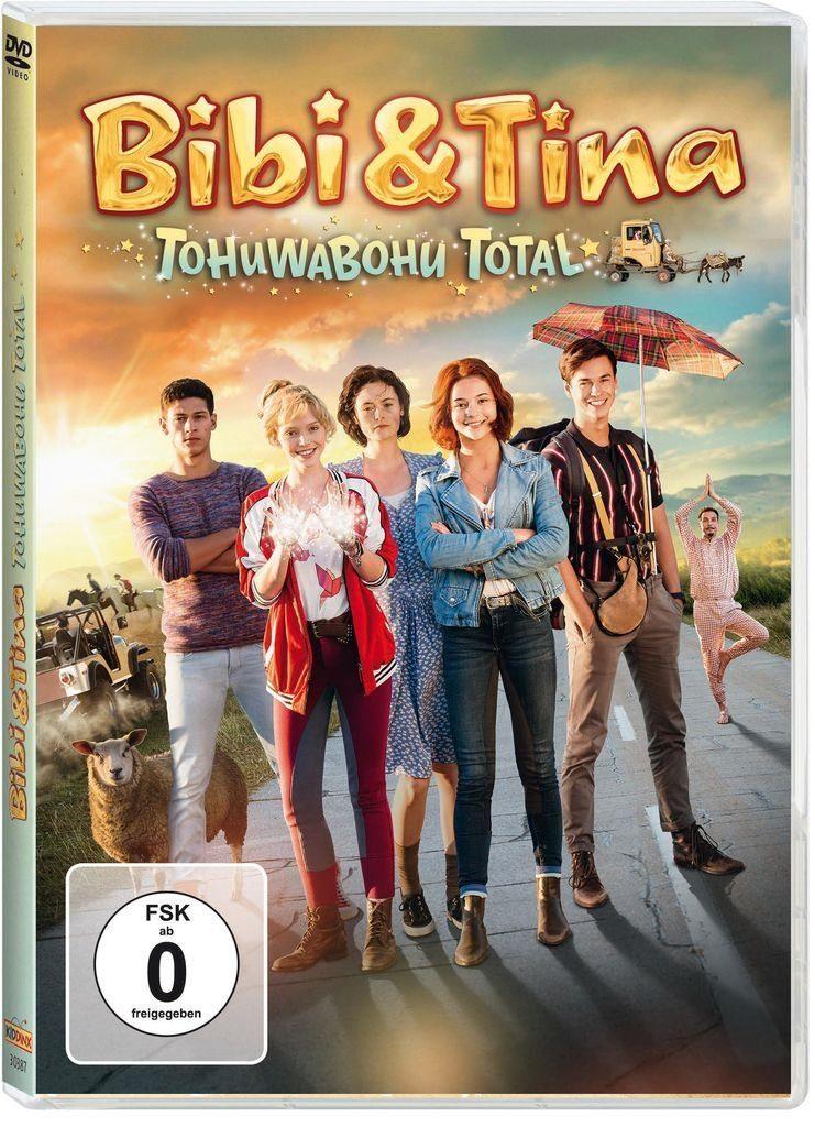 Kiddinx DVD - Film »Bibi & Tina 4: Tohuwabohu total (Kinofilm)«