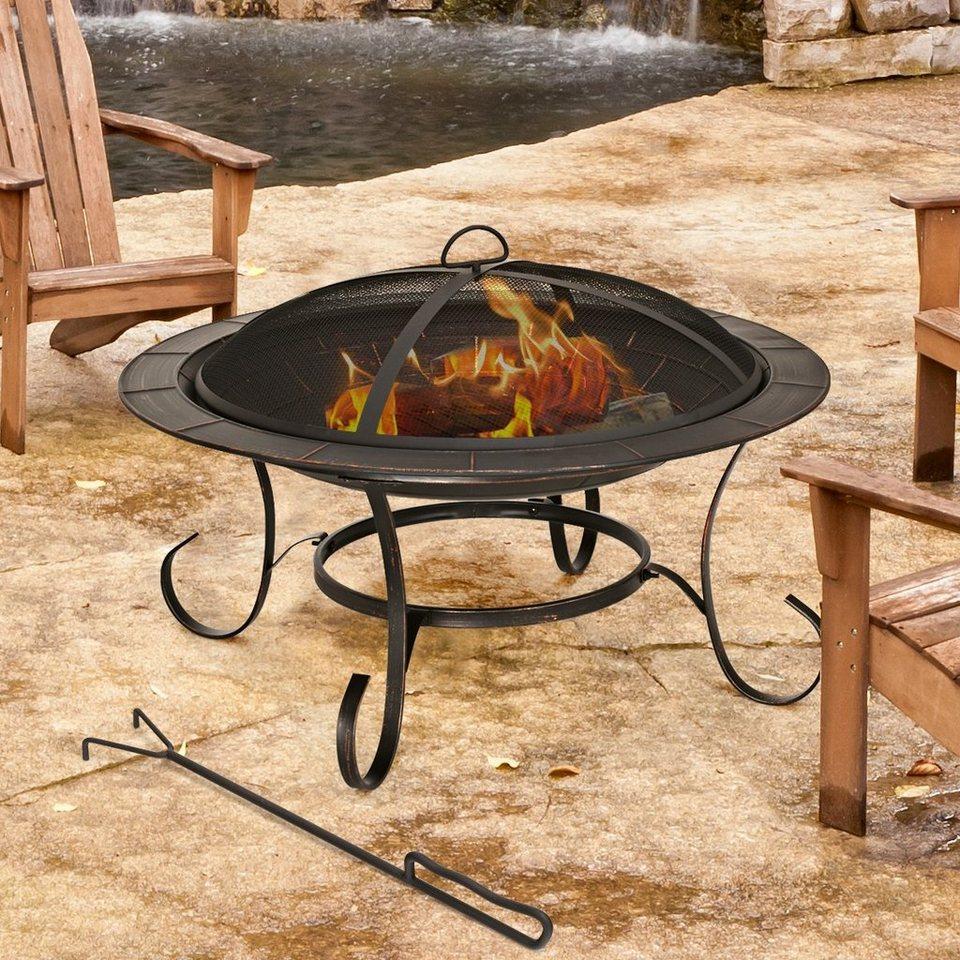 COSTWAY Feuerschale »Feuerschale«, Feuerstelle Garten Terrasse Balkon  online kaufen   OTTO