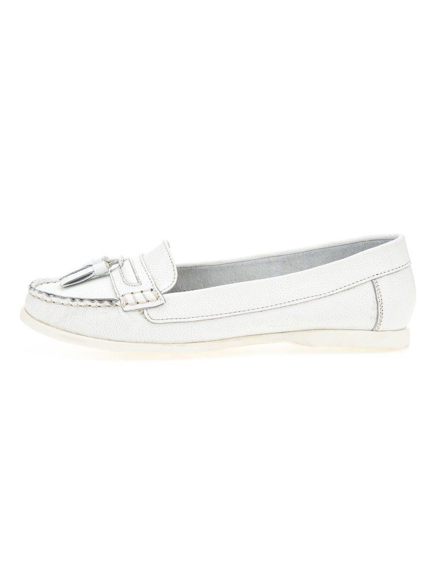 Bianco Quasten-Segel- Halbschuhe online kaufen  White