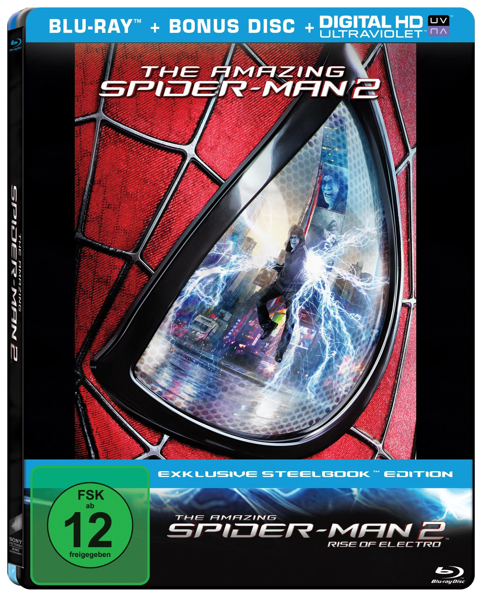 Sony Pictures SteelBook Blu-ray »The Amazing Spider-Man 2™:Rise of Electro«