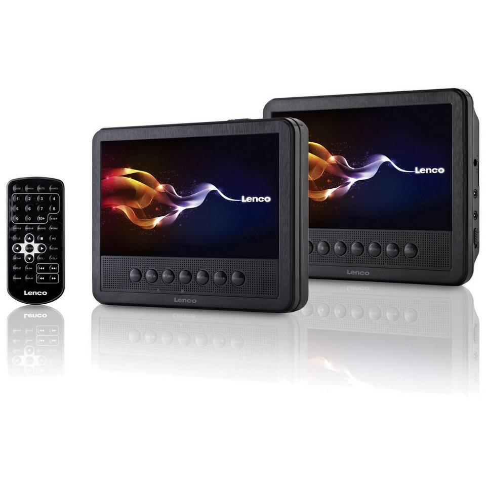 Lenco Tragbares DVD-Player Set mit zwei 7\