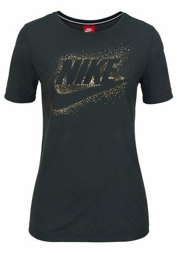 Nike Sportswear T-Shirt W NSW ESSENTIALS TOP SHORTSLEEVE METALLIC