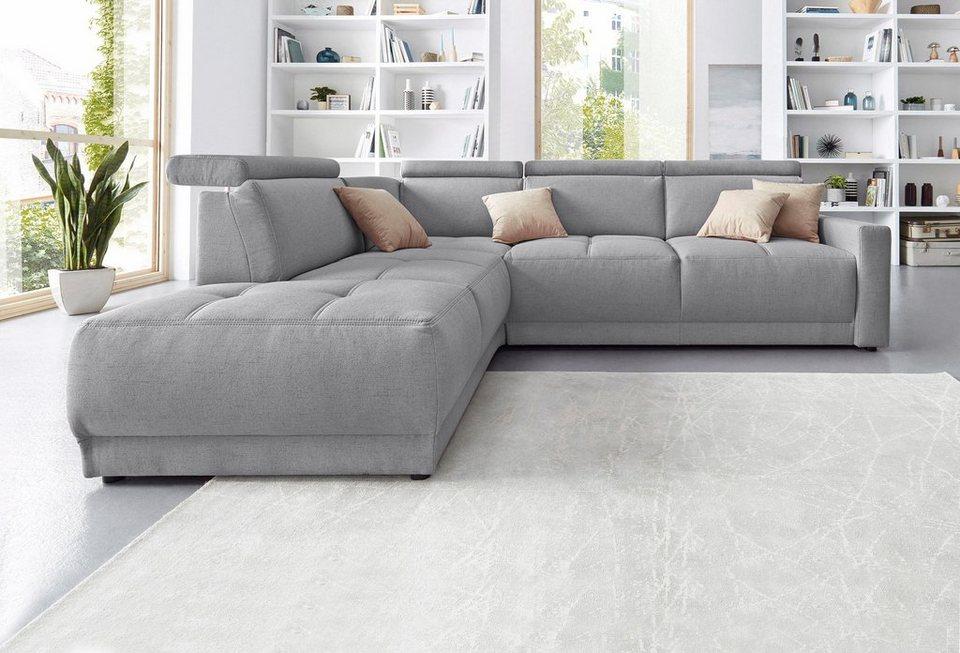 ecksofa mit ottomane top kostenlose lieferung ins deutsche festland allround steinpol poco. Black Bedroom Furniture Sets. Home Design Ideas