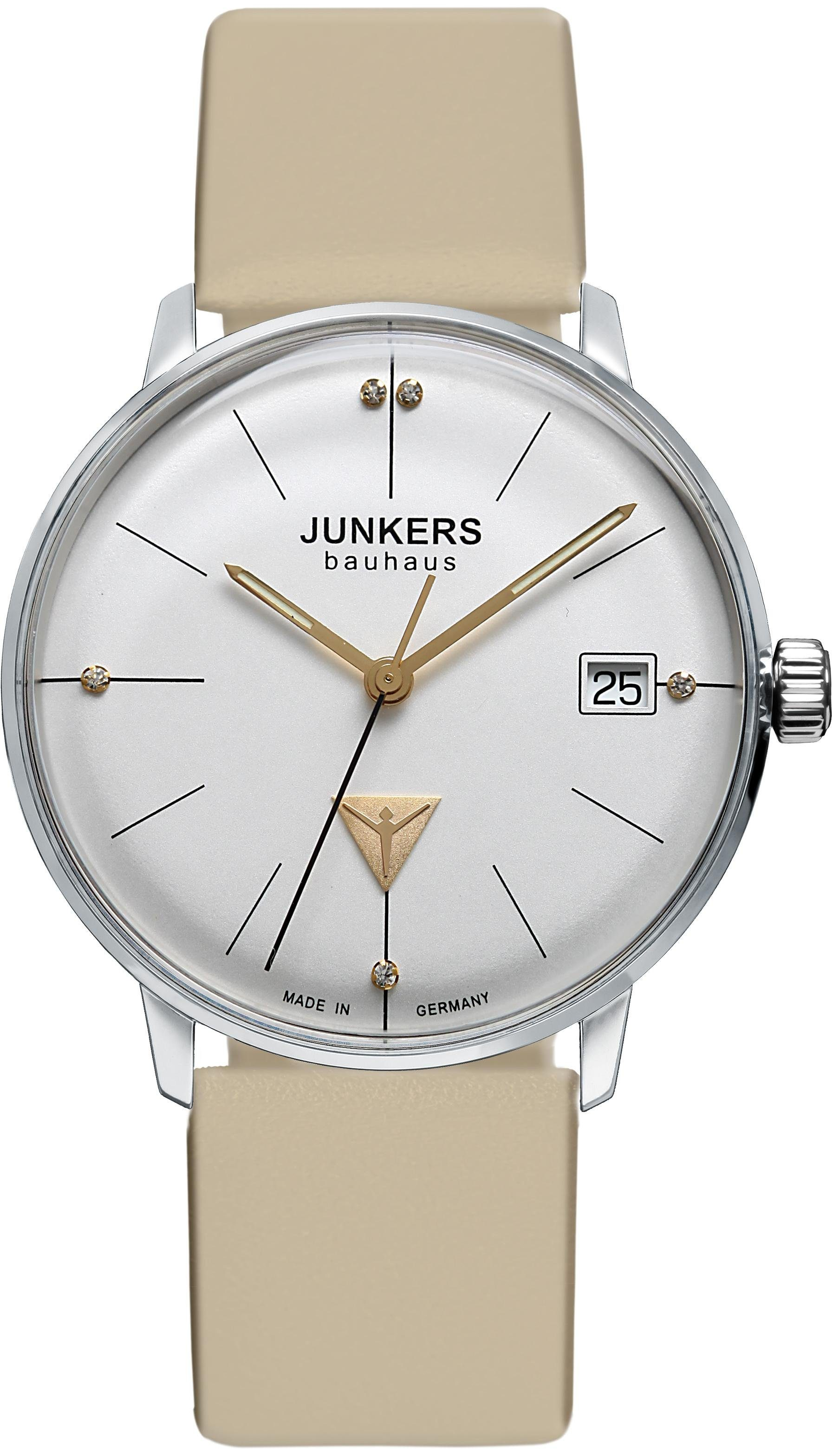Junkers-Uhren Quarzuhr »Bauhaus Lady, 6073-5«, Made in Germany