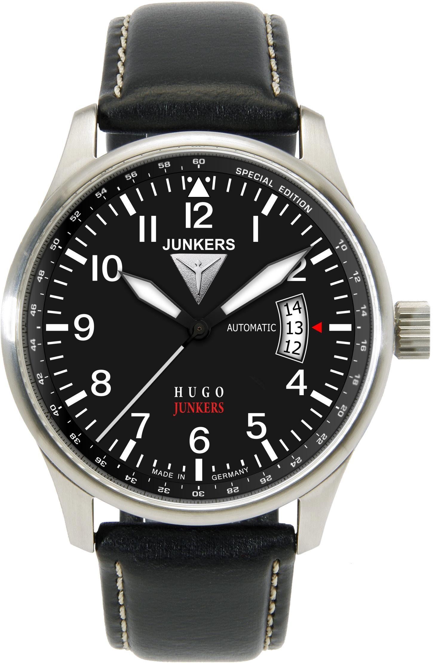 Junkers-Uhren Automatikuhr »Hugo Junkers, 6664-2«, Made in Germany