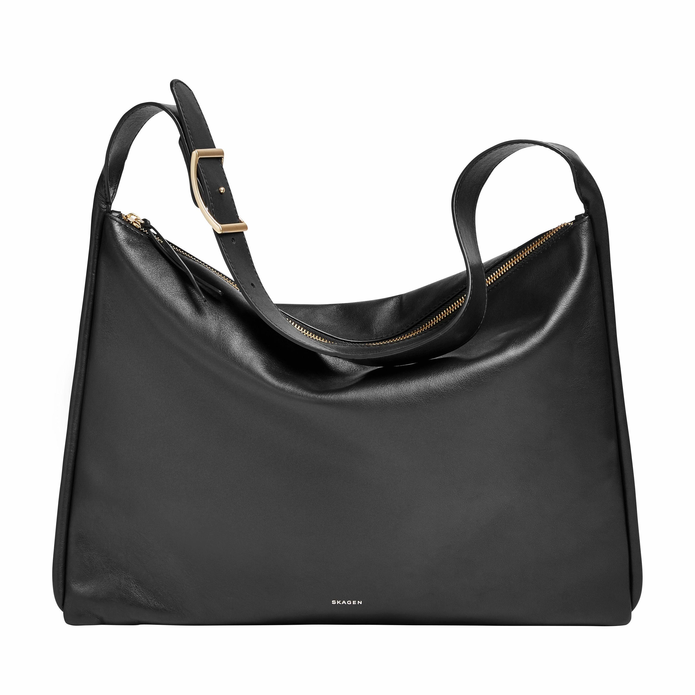 Skagen Hobo »ANESA SHOULDER BAG«, aus hochwertigem Leder in schlichter Optik