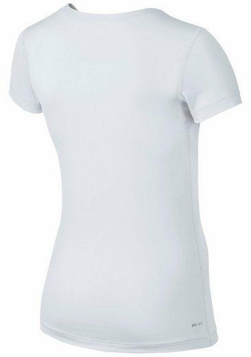 Nike Funktionsshirt WOMEN NIKE TOP VICTORY BASELAYER V-NECK