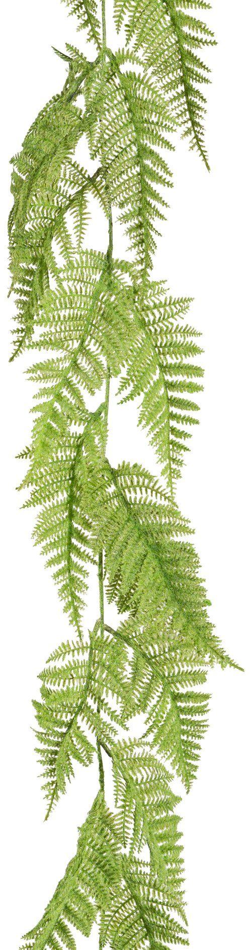 Kunstpflanze »Farn-Girlande«, Höhe 180 cm
