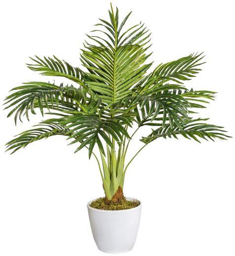 Kunstpflanze »Arecapalme «, im Keramiktopf, Höhe 70 cm