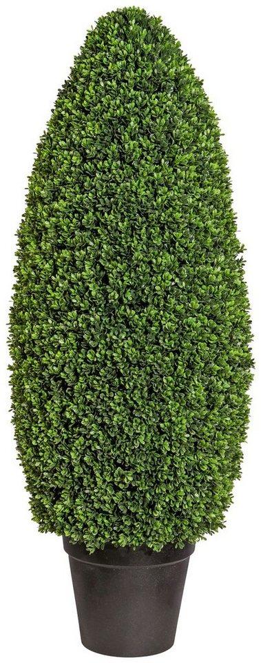 kunstpflanze buchsbaums ule im formschnitt im kunststofftopf xh 40x105 cm online kaufen otto. Black Bedroom Furniture Sets. Home Design Ideas