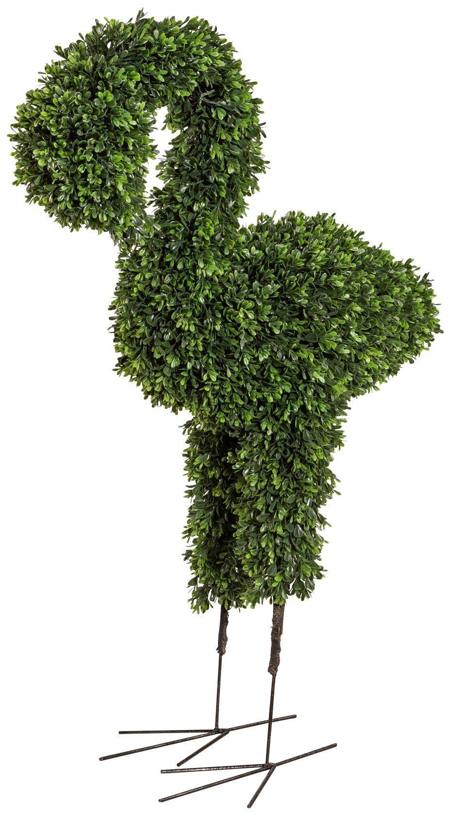Kunstpflanze »Buchsbaum Flamingo«, Höhe 95 cm