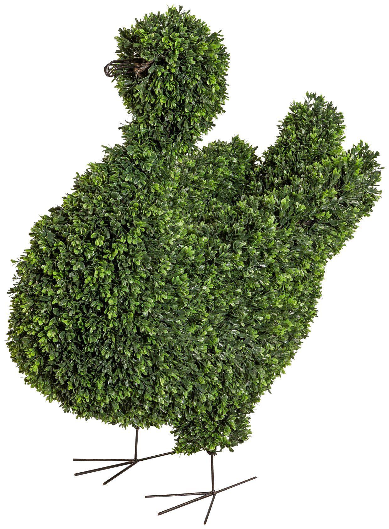 Kunstpflanze »Buchsbaum Schwan«, Höhe 90 cm