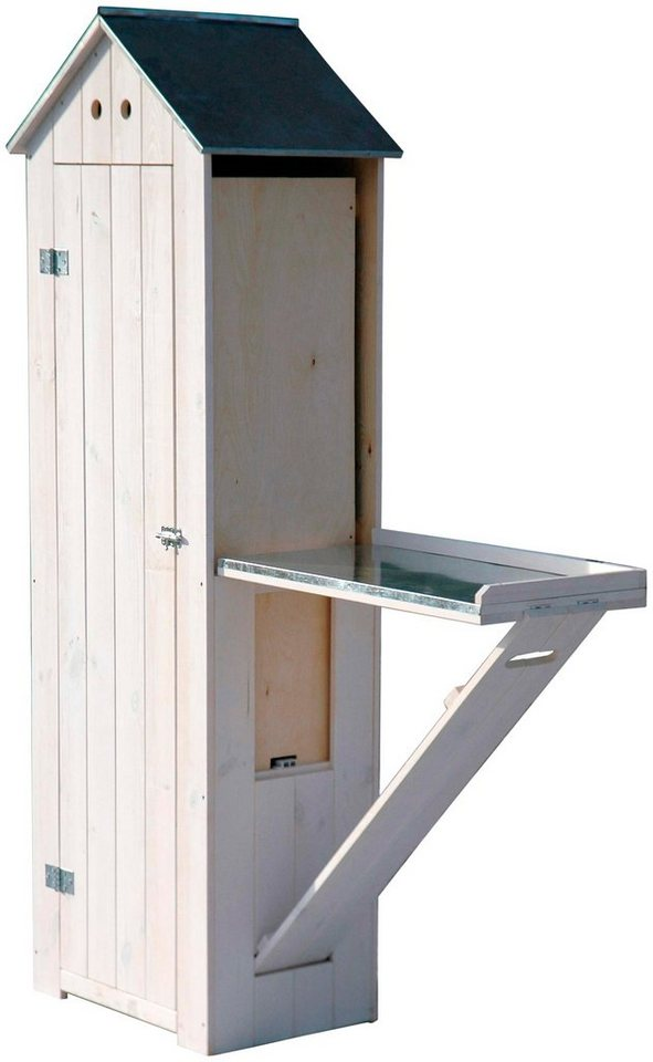 dobar ger teschrank b t h 130 40 185 cm wei otto. Black Bedroom Furniture Sets. Home Design Ideas