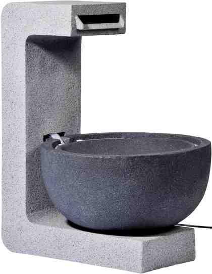 DOBAR Gartenbrunnen , B/T/H: 52/44/65 cm