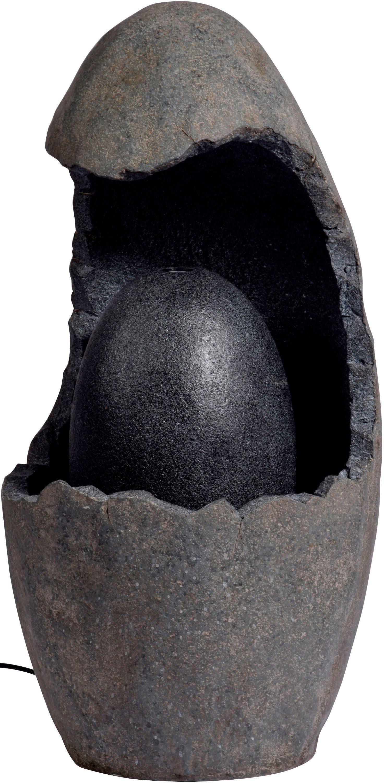 DOBAR Gartenbrunnen , B/T/H: 37/37/73 cm