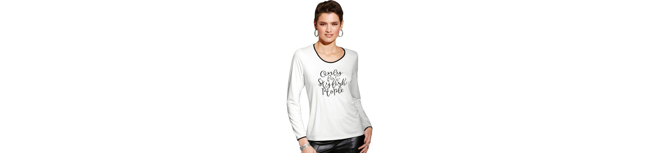 Neue Stile Zu Verkaufen Billig Verkauf Vorbestellung Création L Shirt mit Pailletten-Schrift oKUKovjS