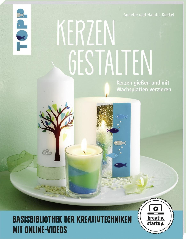 "Topp Buch ""Kerzen gestalten"" 64 Seiten"