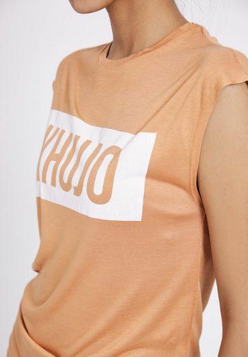 khujo T-Shirt FILOMENA BLOGGER PRINT