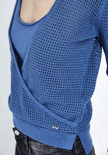 khujo V-Ausschnitt-Pullover TERRA