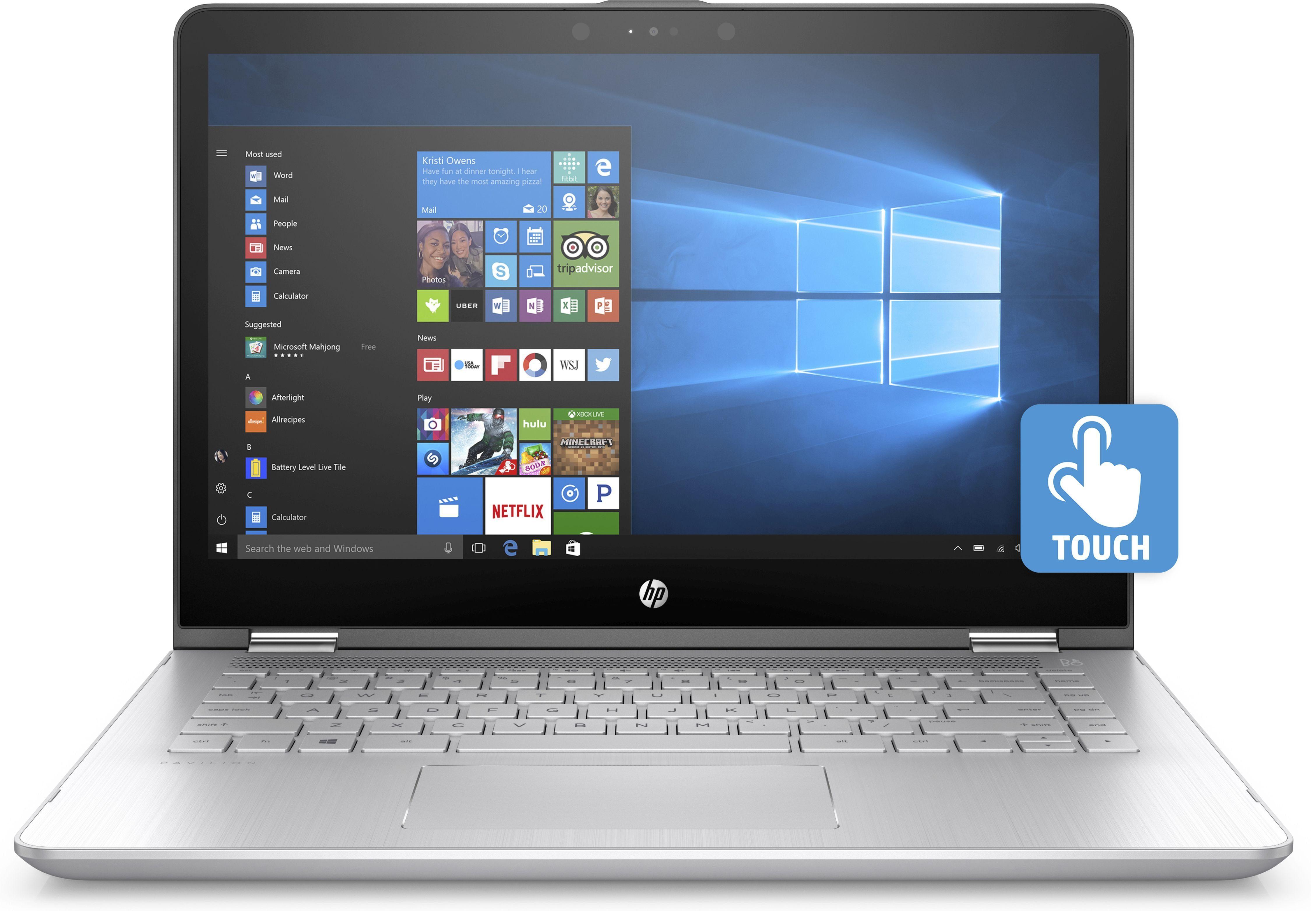 "HP Pavilion x360 14-ba011ng Notebook »Intel Core i5, 35,6 cm (14""), 128 GB + 1 TB, 8GB«"