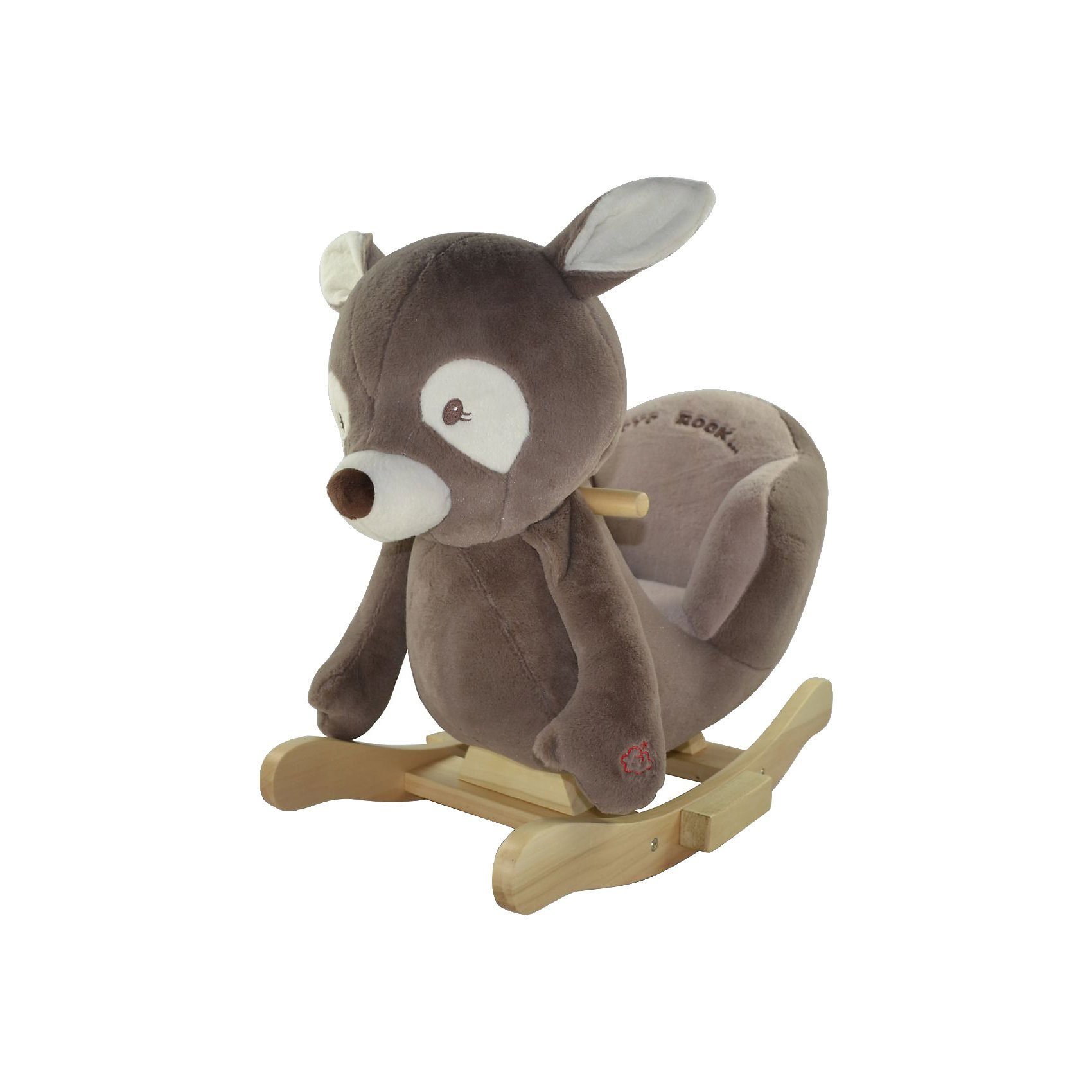 "Sweety-Toys Sweety Toys Schaukeltier Reh ""Daniel the dark brown deer """