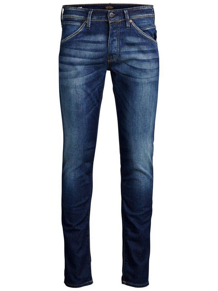Herren Jack & Jones Glenn Fox BL 669 Slim Fit Jeans blau   05713230834325