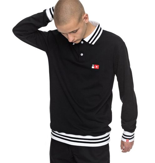 DC Shoes Langarm-Polo Shirt Skate