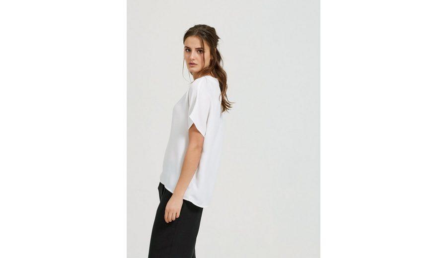 Selected Femme V-Ausschnitt- T-Shirt Günstiger Online-Shop Billig Verkauf Großer Verkauf Günstiges Preis Original  Wie Viel Günstiger Preis Store umzCSPjOs