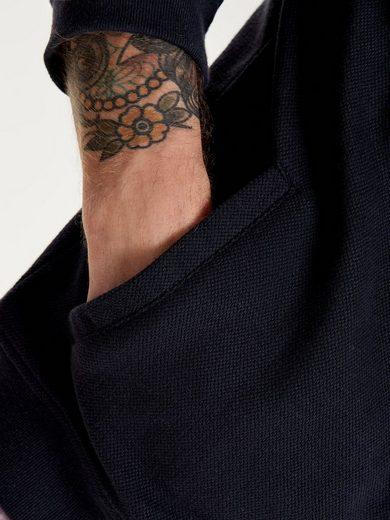 ONLY & SONS Sweat-Hoodiejacke mit Schnürband
