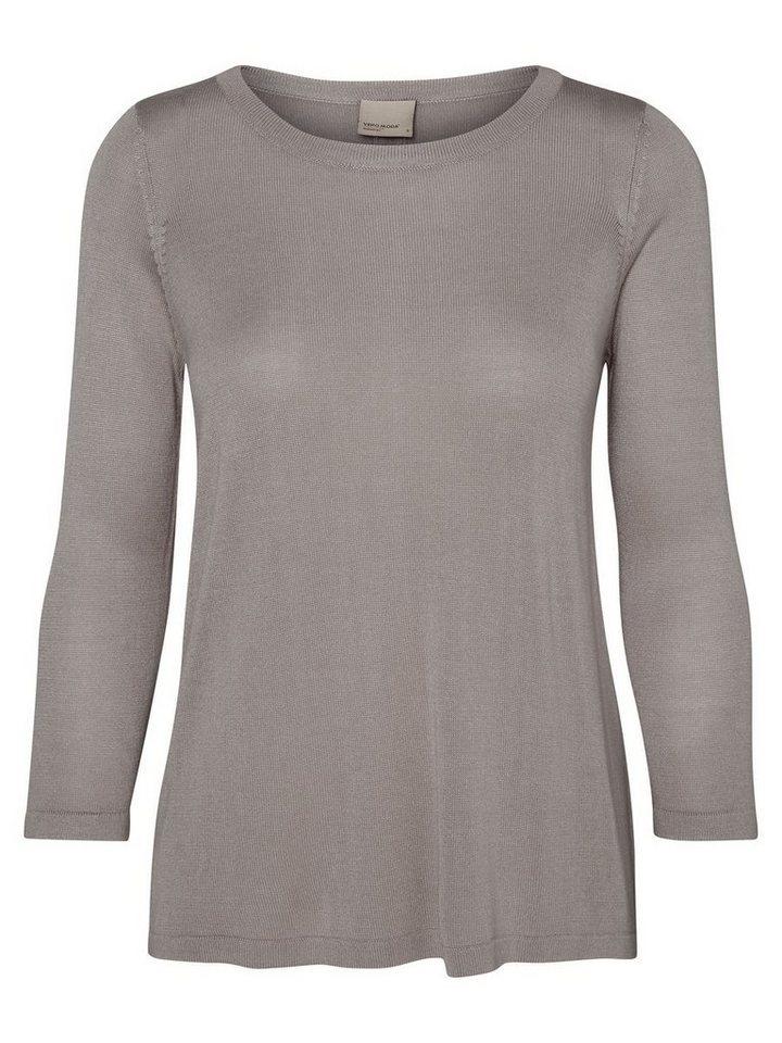 vero moda l ssige bluse mit 3 4 rmeln kaufen otto. Black Bedroom Furniture Sets. Home Design Ideas