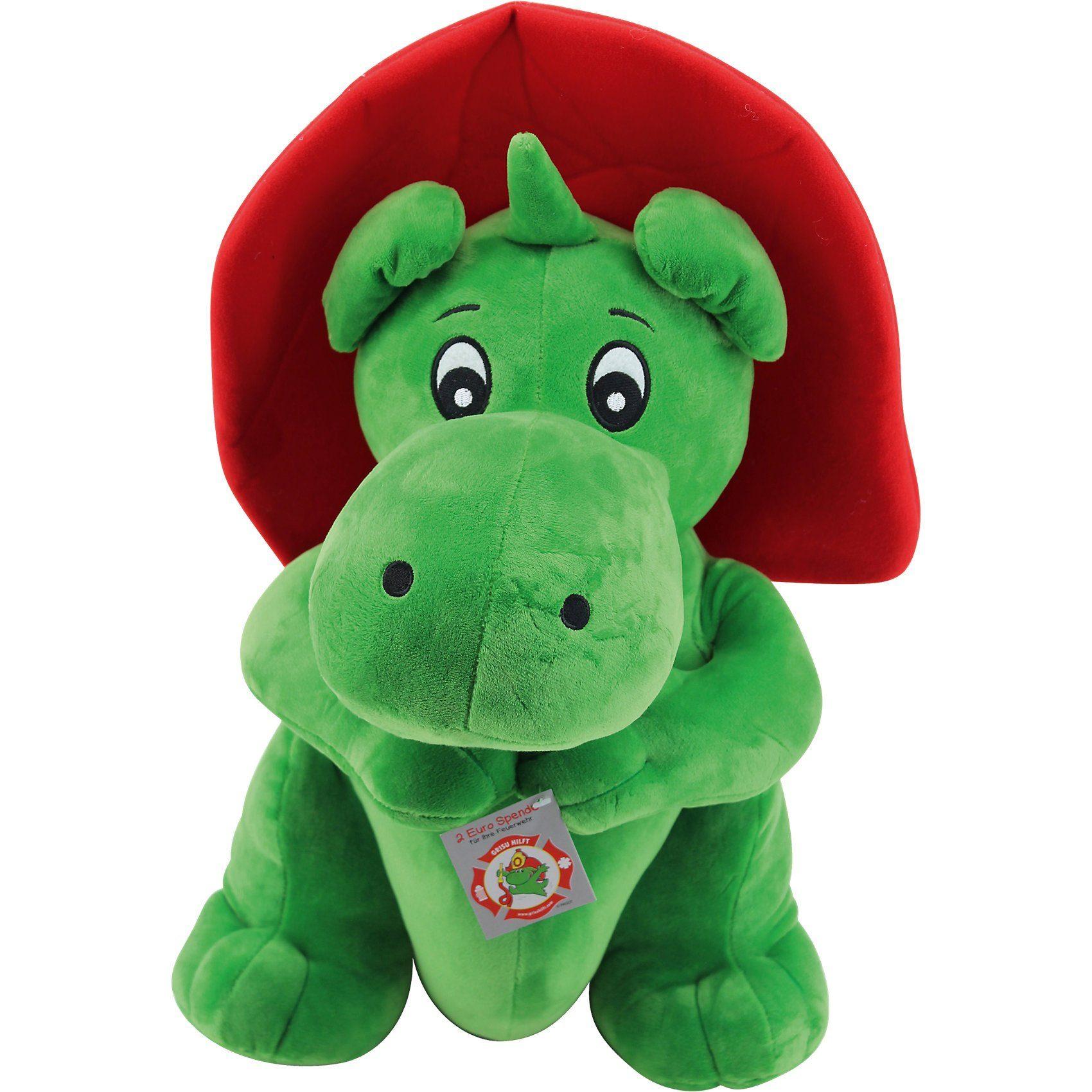 Sweety-Toys Sweety Toys Drache GRISU Feuerwehr Maskottchen Plüsch ca. 50