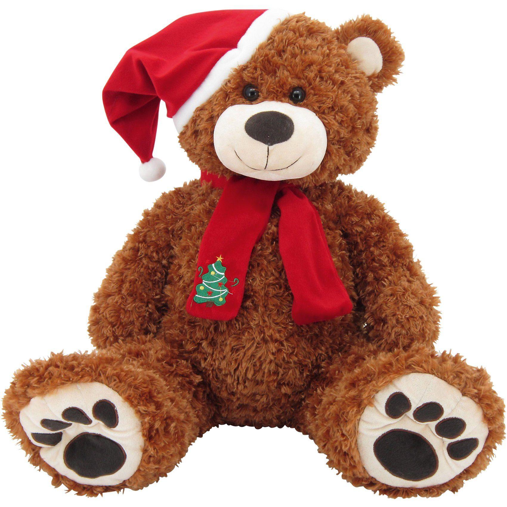 Sweety-Toys Sweety Toys 4744B XXL Riesen Teddybär Weihnachtsbär braun Te