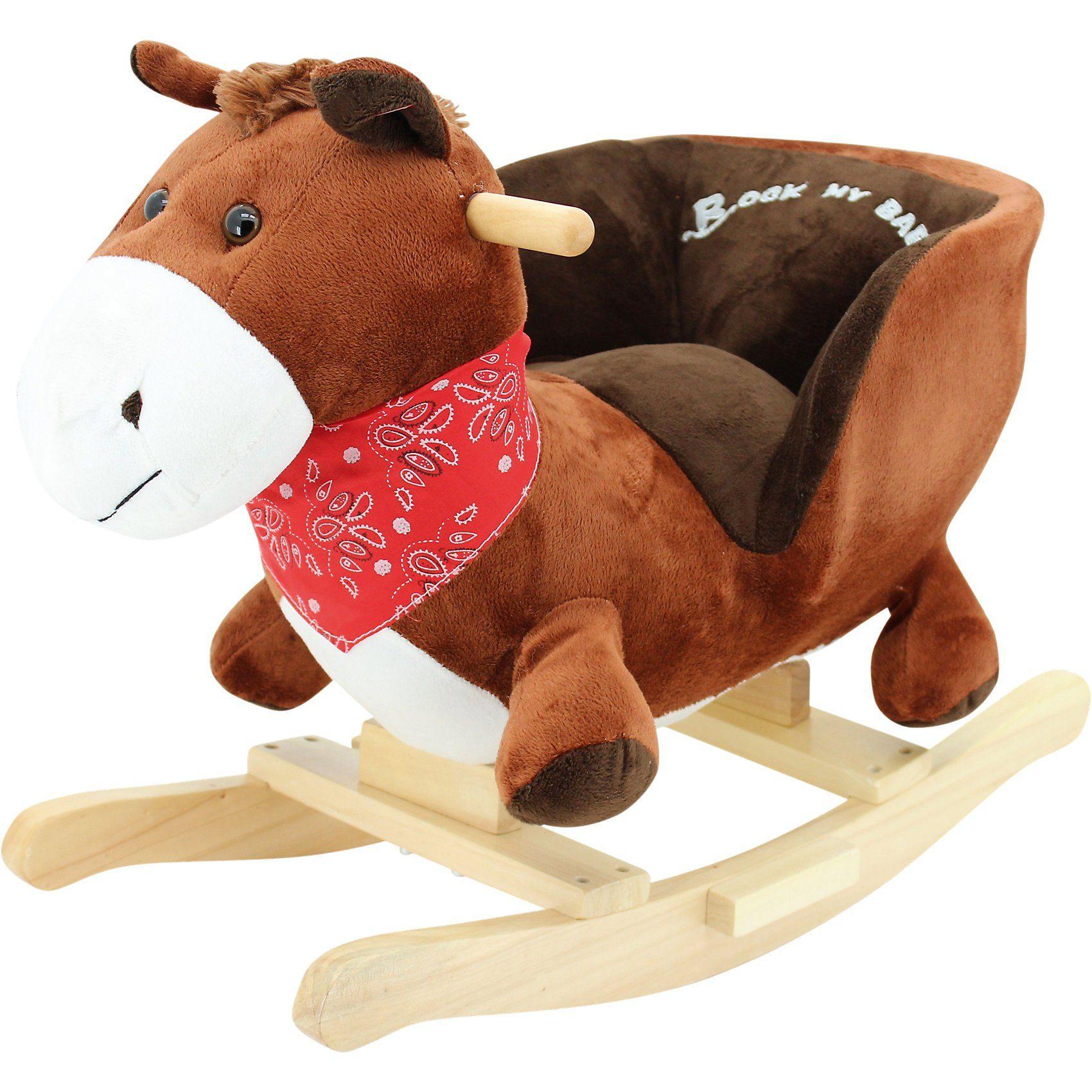 Sweety-Toys Sweety Toys Schaukeltier Pferd Pony mit Funktion Ohr Pferde