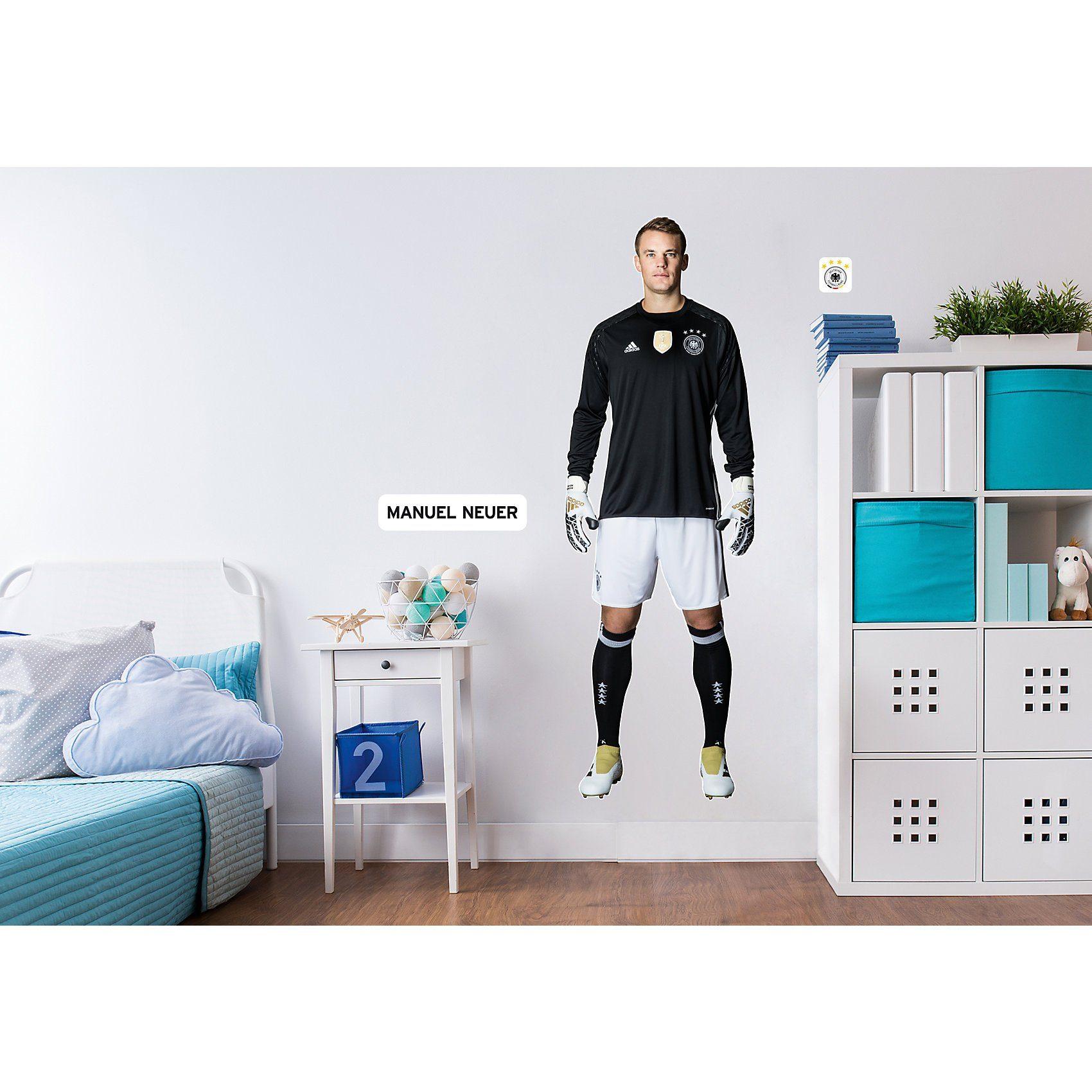 Wandsticker Manuel Neuer, selbstklebend, 50,5 x 145 cm