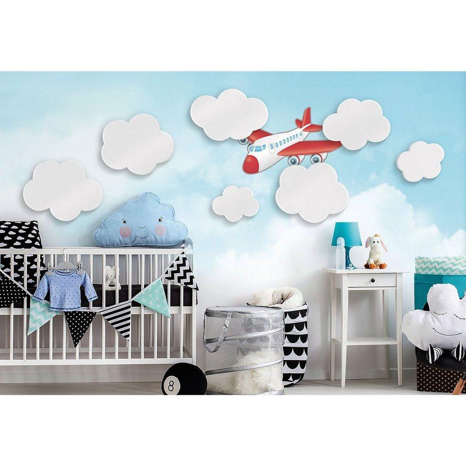 Wandsticker wolken 3d set 7 tlg online kaufen otto for Wandsticker 3d kinderzimmer