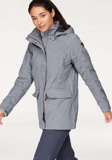 Icepeak Functional Jacket Letty, With 10,000 Mm Water Column