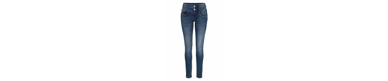 Herrlicher Slim-fit-Jeans BRITT SLIM, mit Push-Up-Effekt und 2-Knopf-Bund