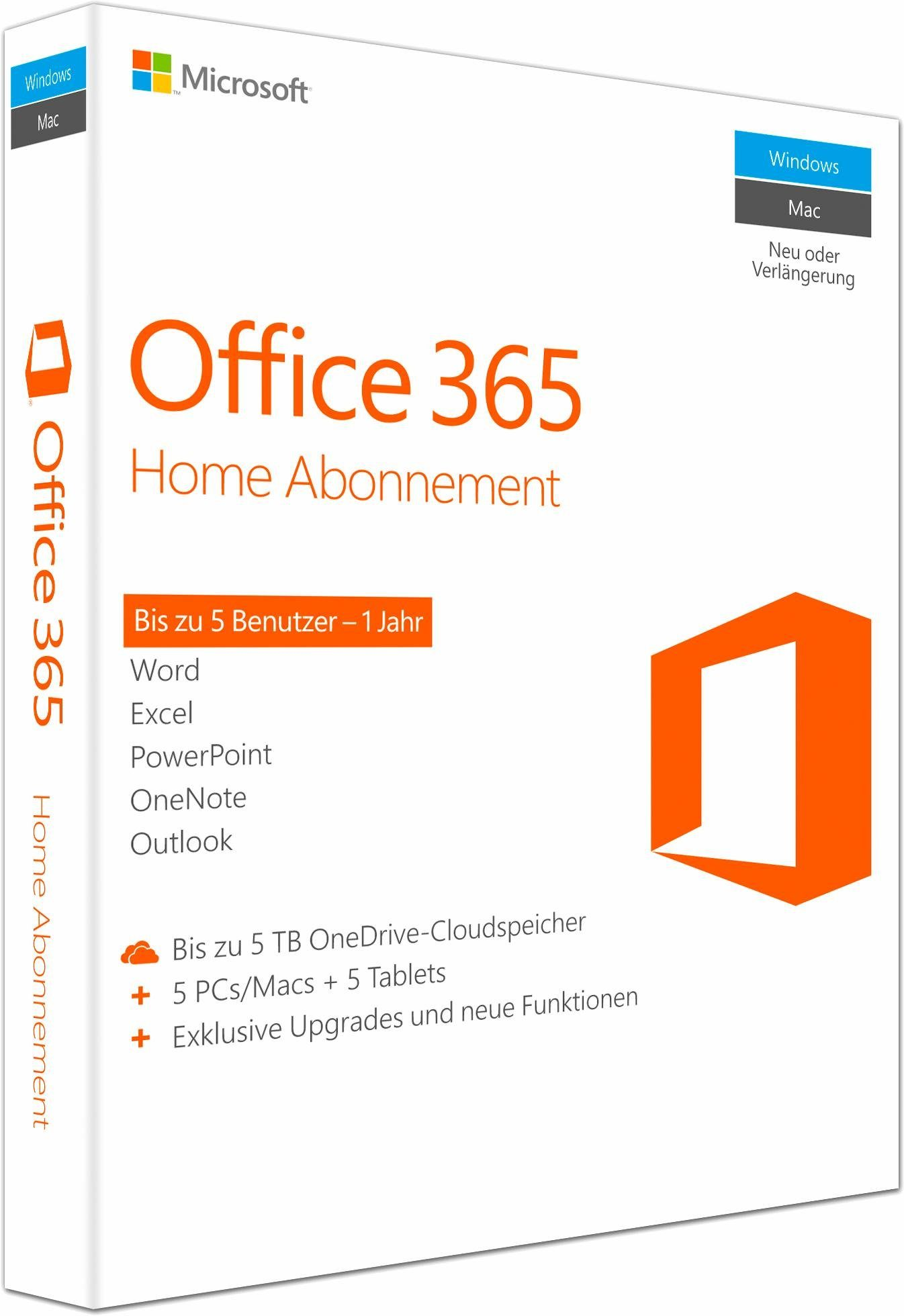 Microsoft® Office 365 Home Mac/Windows