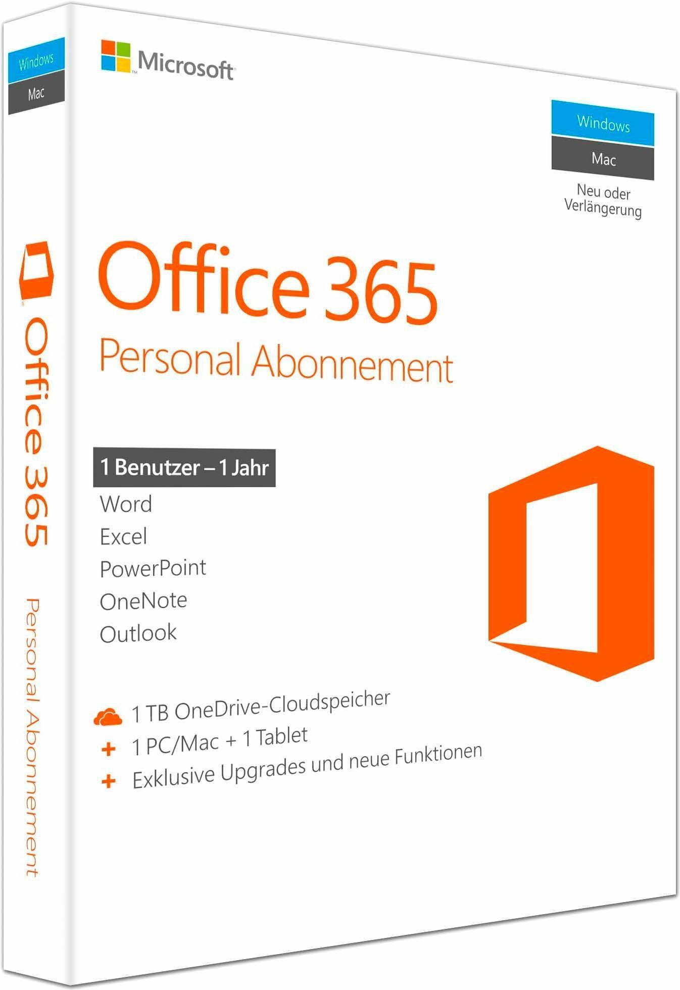 Microsoft® Office 365 Personal Mac/Windows