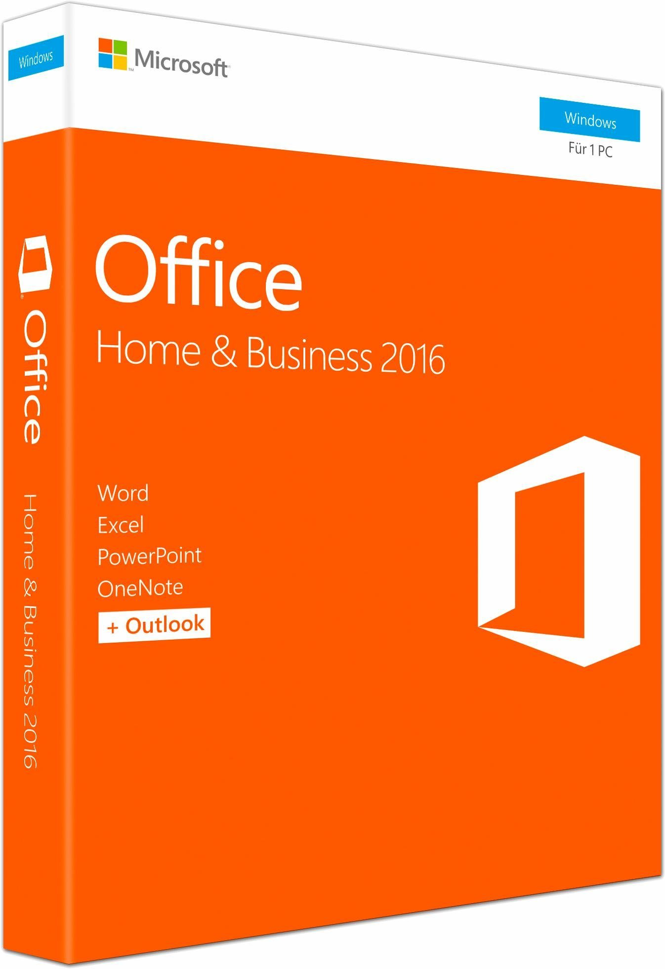 Microsoft® Office Home and Business 2016 Windows