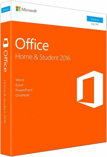 Microsoft Microsoft Office Home and Student 2016 (CD-ROM)