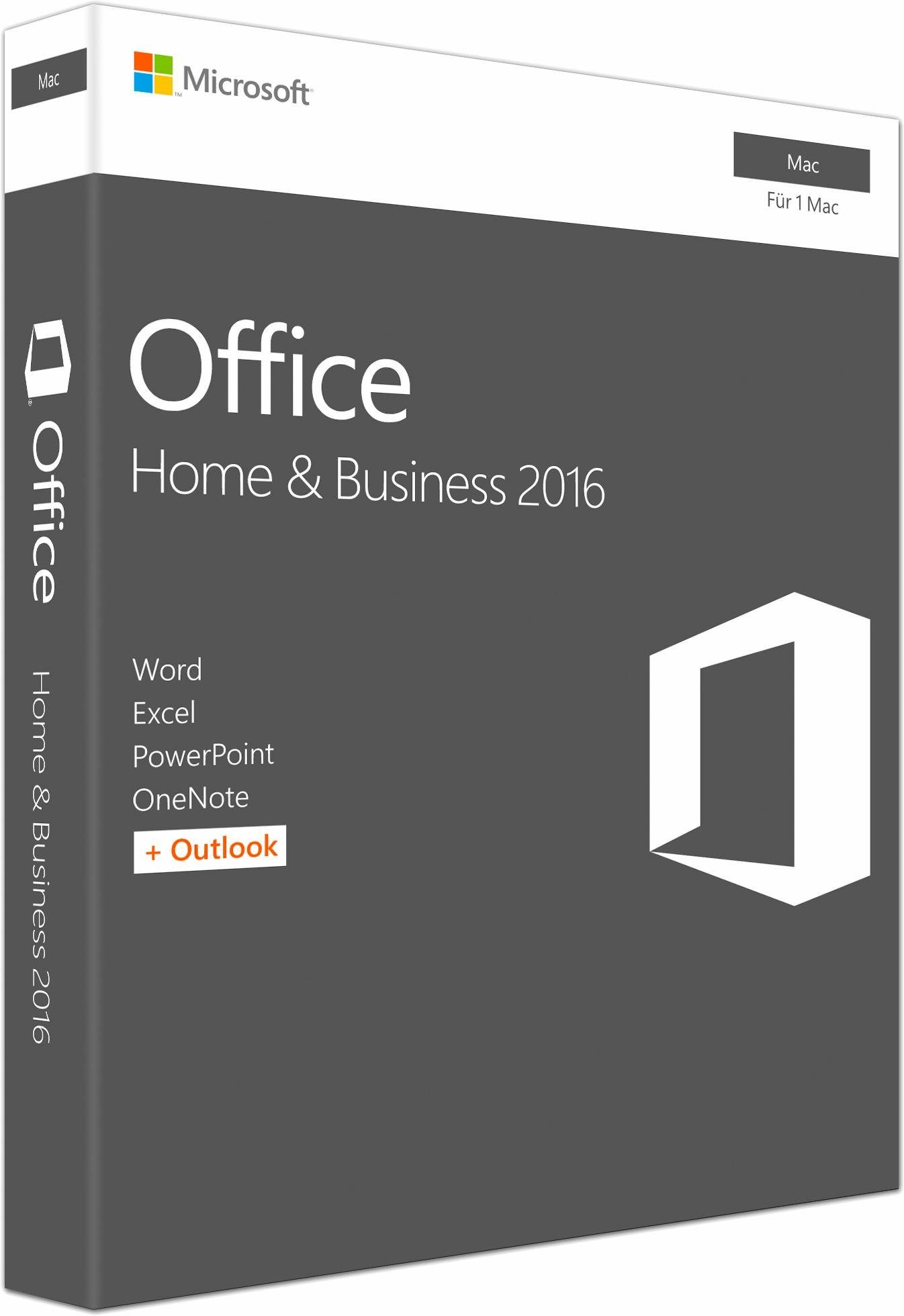 Microsoft® Office Mac Home and Business 2016