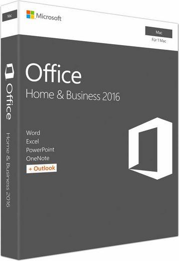 Microsoft Microsoft Office Mac Home and Business 2016 (CD-ROM)
