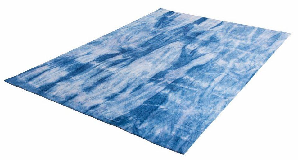 teppich shine batik tom tailor rechteckig h he 14 mm. Black Bedroom Furniture Sets. Home Design Ideas