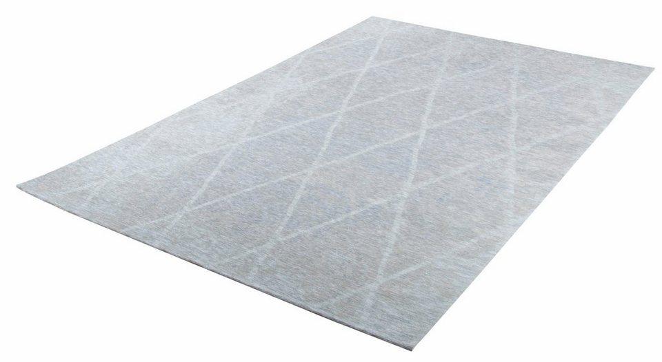 teppich fine lines tom tailor rechteckig h he 5 mm. Black Bedroom Furniture Sets. Home Design Ideas